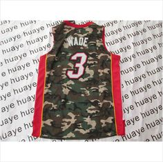 New Men s Miami Heat  6 James Camo NBA Basketball Jersey 820103337403 on eBid  United States 64f3fa5e1
