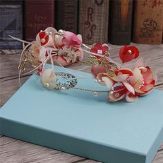 hair accessories with flowers fashion jewelry sets