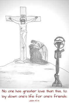 No one has greater love than this, to lay down one's life for one's friends.-2