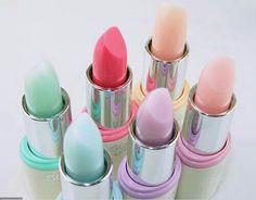 On ose le make up pastel pour une Baby Shower tout en couleur Love Makeup, Beauty Makeup, Corte Y Color, Pink Lips, Pastel Lips, Pastel Makeup, Pretty Pastel, Lipstick Colors, Lip Colours