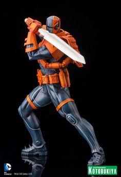 Kotobukiya Announces DC Comics Deathstroke New 52 ARTFX Statue