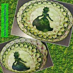 carving fruit carving birthday gift thai carving inspiration Trutnov dárek inspirace kytky květiny flower flowers dýně pumpkin pumpinks