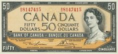 Canadian Currency - 20 dollars banknote Canadian bank notes Twenty Dollars Currency of Canada - 20 Canadian dollars banknote of . Canadian Coins, Canadian Dollar, Canadian History, Canadian Bacon, Ottawa, Coins Worth Money, Money Bank, Coin Worth, Old Money