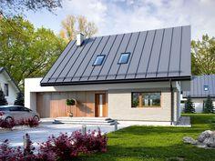 DOM.PL™ - Projekt domu TP Nemo 2 CE - DOM TP1-69 - gotowy projekt domu