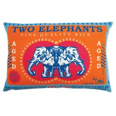 I pinned this Two Elephants Pillow from the Destination: Thailand event at Joss and Main!
