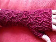 Nereid Fingerless Gloves by Denise Sutherland