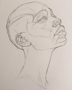 Likes, 22 Kommentare - OliverSin (Oliver Sin - New Ideas For Dinner Pencil Art Drawings, Art Drawings Sketches, Drawing Art, Easy Drawings, Drawing Faces, Anatomy Sketches, Portrait Sketches, Dress Sketches, Drawing Ideas