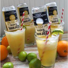 Bulldog Margarita 2 oz. (60ml) Tequila 1 oz. (30ml)Triple Sec 3 oz. (90ml) Lime Juice 2 oz. (60ml) Fresh Orange Juice Salt