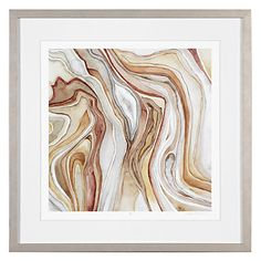 Watercolor Agate 2 - Limited Edition | Framed Art | Art by Type | Art | Z Gallerie