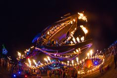 Serpent Mother by Flaming Lotus Girls at EDC Vegas Fair Rides, Edc Las Vegas, Electric Daisy Carnival, Electronic Music, Installation Art, Edm, Past, Fair Grounds, World