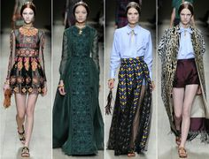 Valentino Spring-Summer Collection of 2014-2015 #FashionForwardLooks
