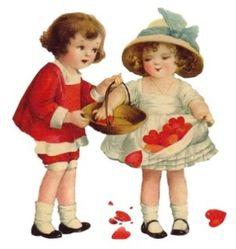 Vintage Valentines by melli03
