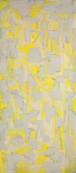 Ad Reinhardt (1913-1967). Yellow Painting