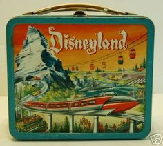 Vintage Disneyland lunch box