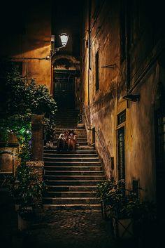 mostlyitaly: Nightlife in Rome (Lazio, Italy) by Carsten Pedersen