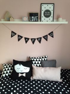 Zwart Wit Slaapkamers op Pinterest - Witte Slaapkamers, Slaapkamers en ...
