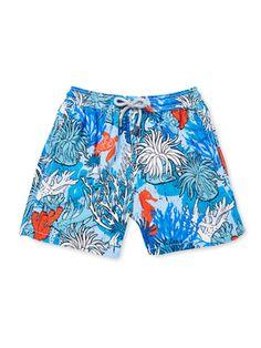 Printed Swimshort from Vilebrequin Boys' Swim on Gilt