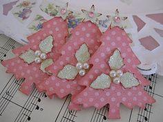 vsroses - Pink Polkadot Christmas Trees | Flickr - Photo Sharing!