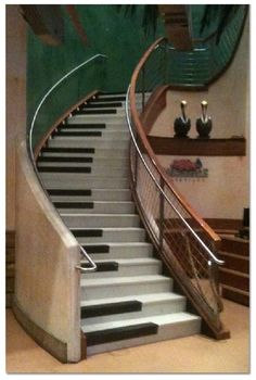 Definately the Coolest Stairs I have ever seen!!