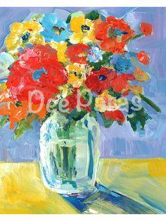 Flower Series 3.a Giclee print  *Dee Paras~Etsy.com