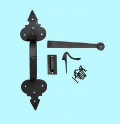 Exterior Door-Hardware - Here's our complete line : The Renovator's Supply Exterior Door Hardware, Gate Hardware, Exterior Doors, Door Spice Rack, Door Picture Frame, Sliding Door Curtains, Recycled Windows, Closet Door Makeover, Double Front Doors