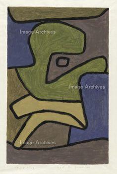 作品詳細 Paul Klee 'After the Act of Violence' 1940 Colored paste on paper on cardboard 48.3 x 31.4 cm