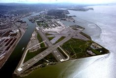 Alameda Naval Air Station - Where Mythbusters blows up stuff and the highway scene from The Matrix Reloaded was filmed.