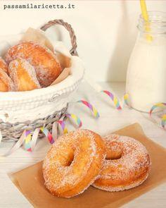 Graffe napoletane, italian donut recipe
