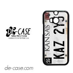 Personalized Vintage Supernatural License Plate Number DEAL-8541 HTC Phonecase Cover For HTC One M8