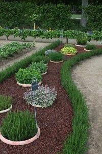 109 garden ideas for your beautiful garden design - Diy Garden Projects Diy Garden, Garden Projects, Garden Pots, Herb Garden, Large Backyard Landscaping, Landscaping Ideas, Corner Landscaping, Courtyard Landscaping, Mulch Landscaping