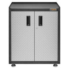 Gladiator 28 in. W x 31 in. H x 18 in. D Freestanding 2-Door Steel Cabinet in Hammered Granite-GAGB28FDYG at The Home Depot