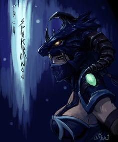 Dragon Slayer Vayne by joseph1100.deviantart.com on @DeviantArt