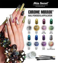 Mia Secret Chrome Mirror Nail Powder