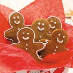 Gingerbread Men Cookies Recipe from Taste of Home