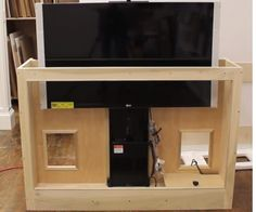 inbouwmodule voor een tv lift