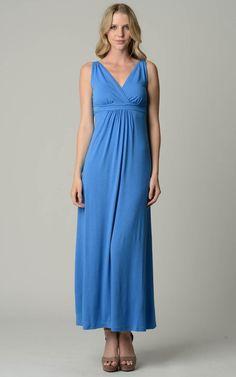 Christine V Empire Waist Maxi Dress - WholesaleClothingDeals - 1