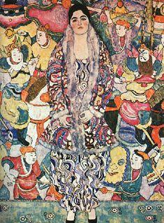 Gustav Klimt. Portrait of Friedericke Maria Beer, 1916