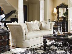 """Florentino"" Elisabetta Sofa - Lexington Home Brands Furniture #statementsofa #LHBDesign"
