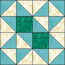Block of Day for March 30, 2016 - Chisholm Trail-strip piecing-The pattern may be downloaded until: Saturday, April 9, 2016.