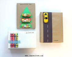 Interactive Gift Wrap for Kids via @Rachel R Hinderliter (Lines Across)