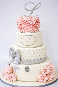 romantic elegant wedding cakes from top designers 3