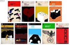 Tarantino films as book cover illustrations