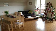 4.5 Zimmer Maisonette-Dachwohnung mit Laminatboden und Tiefgaragenplatz in Tägerig.