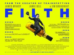 Filth quad movie poster
