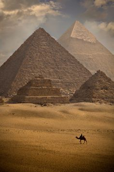 Egypt - you don't believe for real that WE built them right?