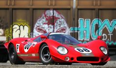 Ex-David Piper Endurance Prototype: 1969 Ford P68 | Bring a Trailer Classic Sports Cars, Ford Classic Cars, Best Classic Cars, Maserati, Ferrari, Sports Car Racing, Racing Team, Sport Cars, Race Cars