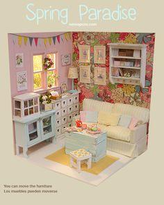 Nerea Pozo Art: 1/6 Scale Diorama 'Spring Paradise'
