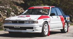 Relive Mitsubishi's Glory Days In This 1990 Galant VR-4 Group A Rally Car #news #Auction