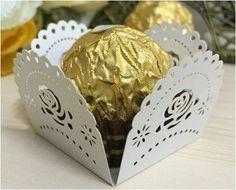 Party Supplies Flower Candy Bar Chocolate Bar