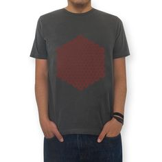 Camiseta hex truchet maze de @sandromiccoli   Colab55